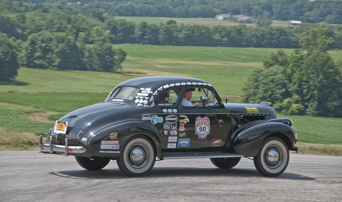 John and Scott Hudson Win the Penn-York Rally
