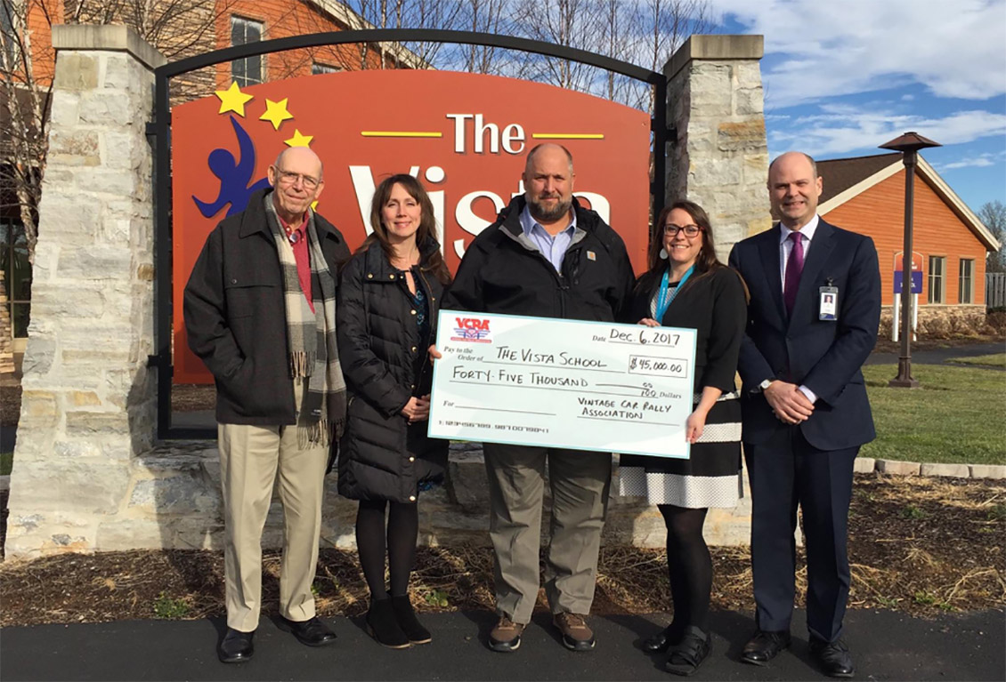 VCRA Donates to The Vista School in Pennsylvania