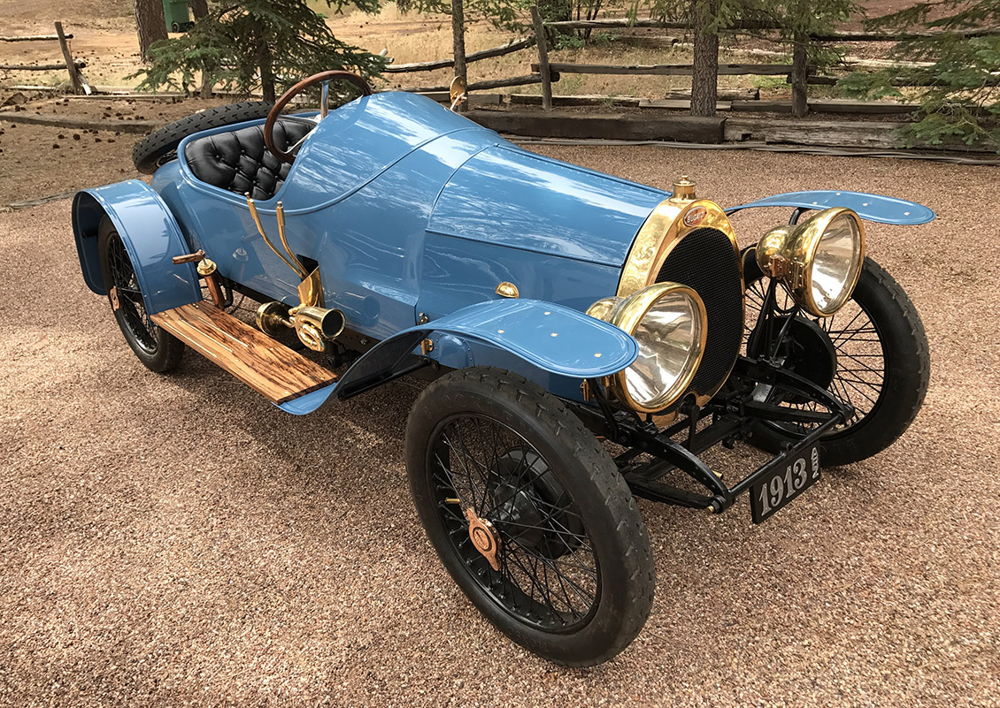 Alan and Mary Travis' 1913 Bugatti Featured on Jay Leno's Garage