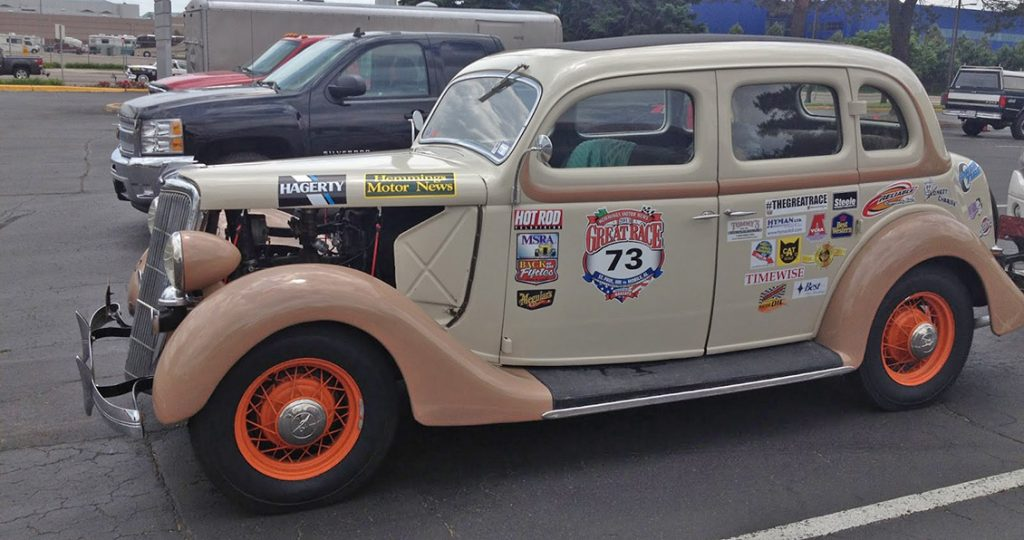 1935 Ford Great Race Car For Sale