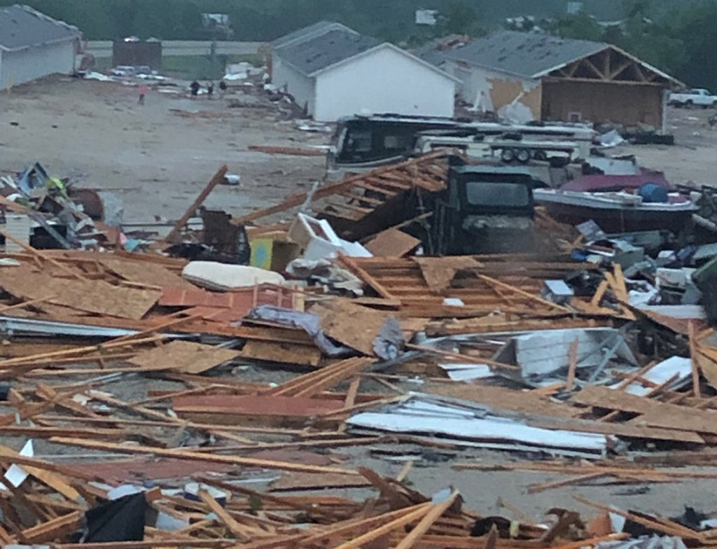 Great Race Cars Damaged in Missouri Tornado