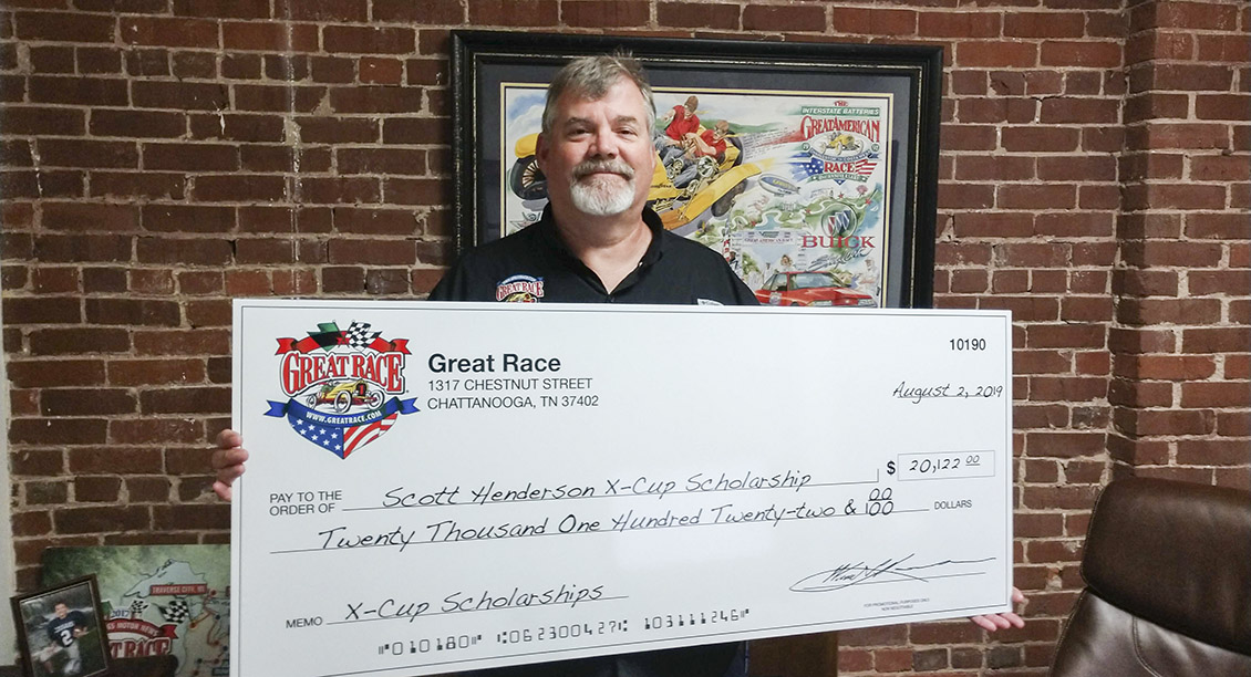 More than $20,000 Raised for Scott Henderson X-Cup Scholarship Fund