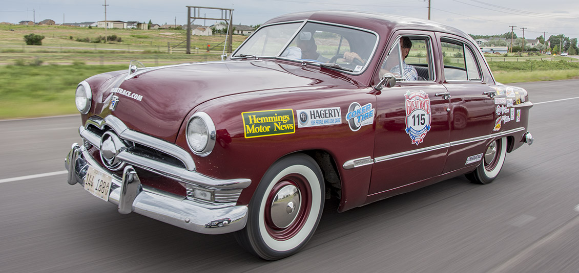 1950 Ford (previous Great Race car) For Sale