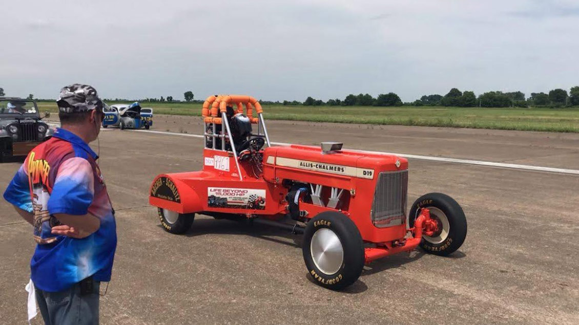 Great Racer Builds the World's Fastest Tractor