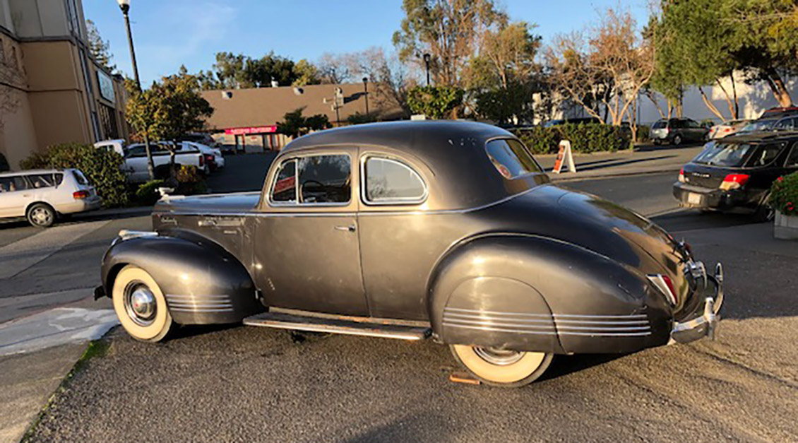 1941 Packard Coupe with Factory A/C For Sale