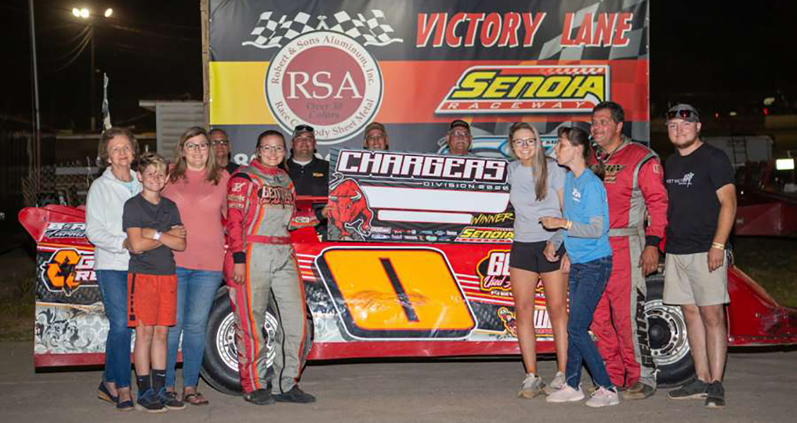 Olivia Gentry Gets First Career Victory at Senoia Raceway