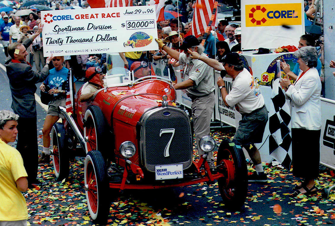 Great Race Winner Model A Up For Sale